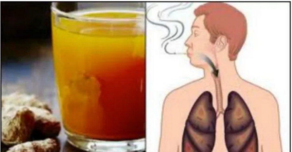 Esti fumator? Aceasta bautura curata plamanii de toxine