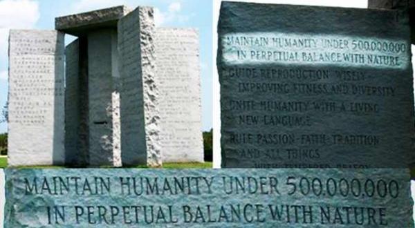 Monumentul MISTERIOS care stabilește numărul maxim de oameni pe Terra, în viitor- Pietrele îndrumătoare din Georgia