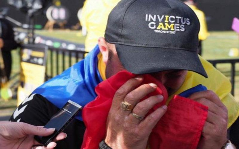 Erou şi în Afganistan, şi la Jocurile Invictus. Povestea impresionantă a militarului care a cucerit două medalii pentru România