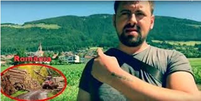 """Revolta unui roman ajuns in pădurile austriece: """"Priviți cat e de verde austria!"""" Distribuie mai departe daca simti la fel!"""