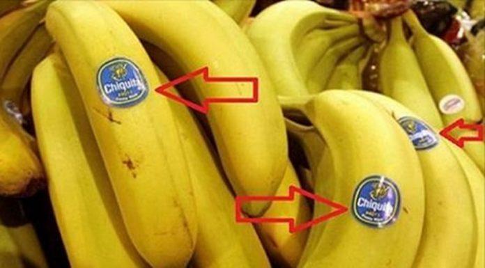 Mananci BANANE sau …. ? Nu mai cumpărați fructe si legume cu cifra 8 pe eticheta! Ce semnifica aceasta cifra este dezastruos!