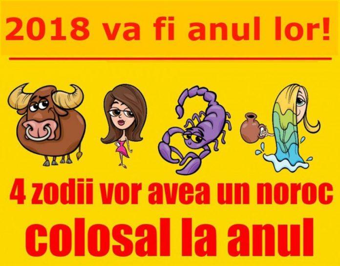 2018 va fi anul lor. 4 ZODII care vor avea un noroc colosal DIN 1 IANUARIE 2018!
