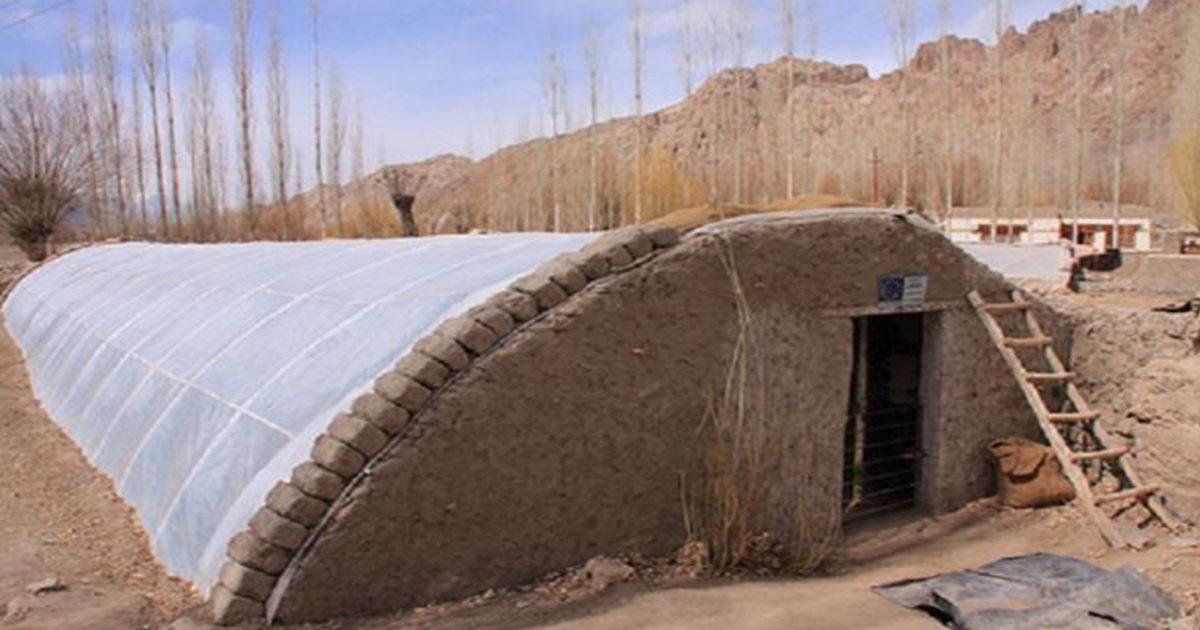 Sera îngropată cu care poți produce legume și în miezul iernii. Costă 270 de euro și o poate construi orice gospodar!