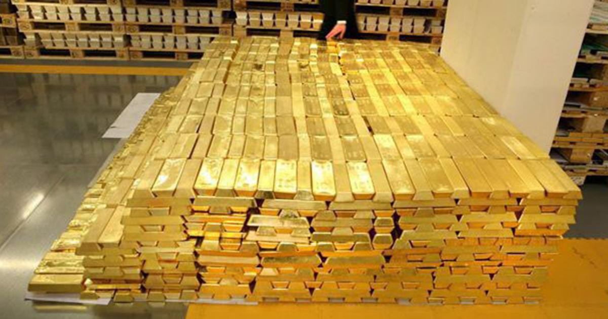 Rezerva de aur a BNR este de 103,7 tone, iar 60% este depozitată în afara graniţelor ţării, în principal la Londra, în fiecare an din perioada 2010-2016.