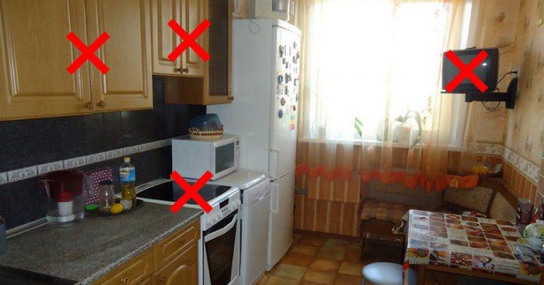 Această bucătărie minunată a adus necazuri familiei mult timp. Când au aflat motivul, au aruncat tot… Iată de ce: