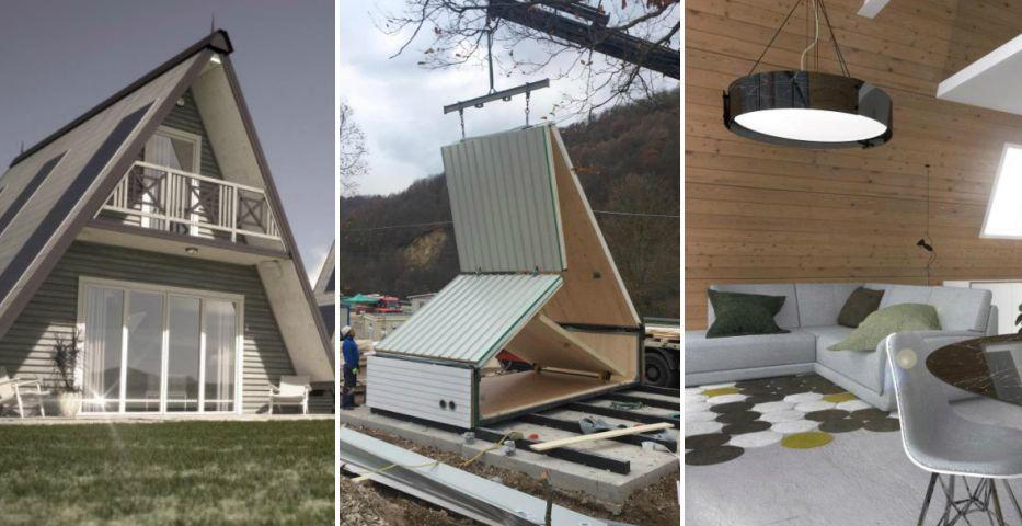 Așa arată casa viitorului pe care o poți construi în doar 6 ore! Rezistă la cutremure, iar interiorul e demențial!