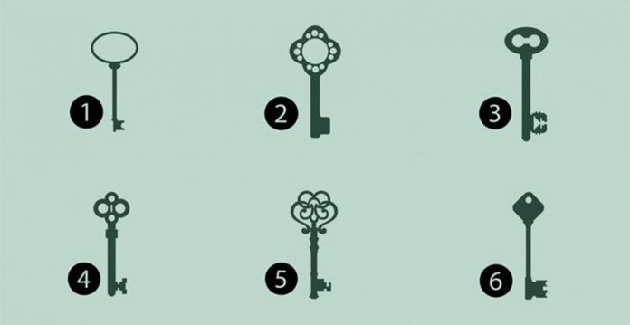 Alege o cheie și vezi ce îți dezvăluie subconștientul despre personalitatea ta! Se adeverește GARANTAT !