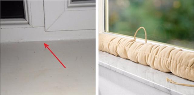 Acest truc m-a ajutat să uit pentru totdeauna de aerul rece de la geamuri. Frumos și practic!