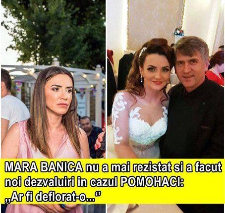 """Mara Bănică nu a mai rezistat si a facut noi dezvăluiri în cazul Pomohaci """"Ar fi …"""""""
