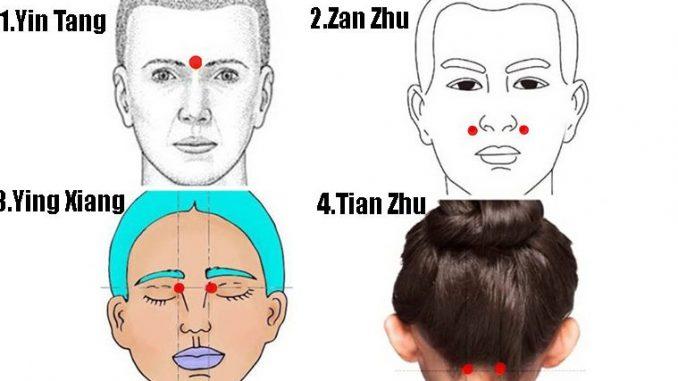 Cum să scapi de durerile de cap, congestiile nazale și să alungi stresul stimulând anumite puncte de pe corp