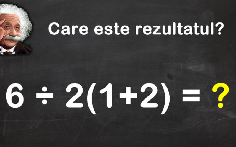 Problema de matematica dificila pentru multi. E simpla, dar nu multi stiu raspunsul corect. Tu stii?