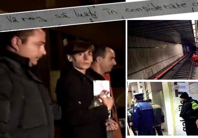 Autoritatile au facut-o, in sfarsit, PUBLICA! Aceasta este SCRISOAREA pe care asasina de la metrou a trimis-o cu două luni și jumătate înaintea comiterii crimei! Ce a fost in stare sa scrie femeia