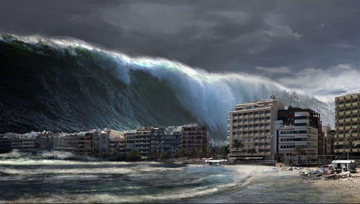 """Avertismentul specialiștilor: un tsunami ar putea lovi țara noastră! Când ar putea avea loc dezastrul care """"amenință"""" România"""