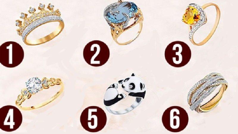 Alege un inel şi descoperă ce fel de femeie eşti! Ție care îți place?