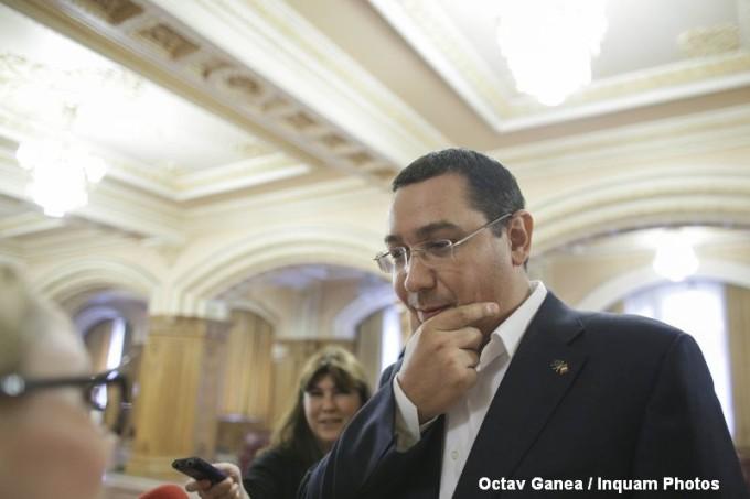 """Ponta: """"În ţara noastră nu mai există Guvernul României, ci Guvernul lui Dragnea şi al Teldrum"""""""