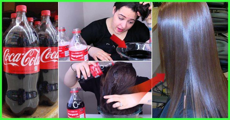 Ce se întâmplă dacă te speli pe păr cu Coca Cola – Rezultatul este uimitor!