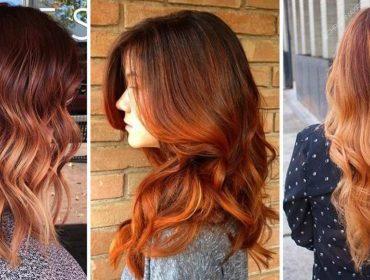 Culoarea arămie a părului: noul trend al anului 2018! Cele mai reușite combinații cu machiajul