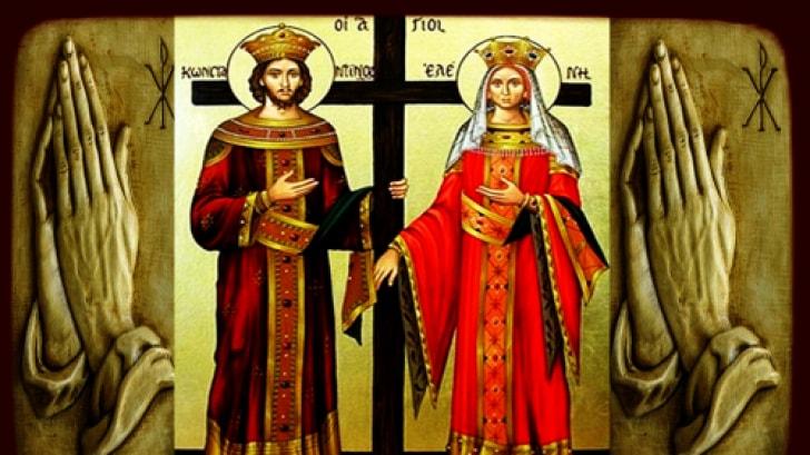 Sf. Constantin şi Elena. Ce trebuie să faci pe 21 mai pentru a avea noroc tot anul