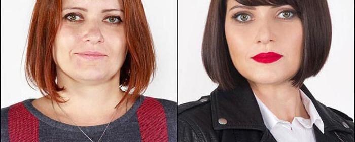 15 femei înainte și după întâlnirea cu un stilist talentat