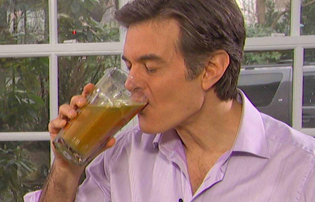 Bautura lui Dr. Oz pe care o bea zilnic -Te ajuta sa slabesti zi si noapte