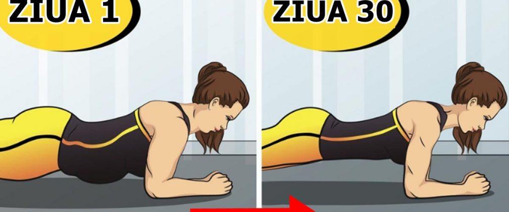 Schimbă-ți corpul în doar 30 de zile! Un singur exercițiu va elimina toată grăsimea de pe burtă și picioare
