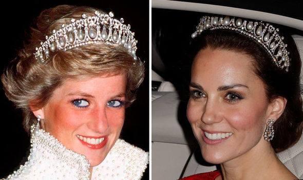 De ce i-a fost interzis lui Kate să poarte toate bijuteriile Prințesei Diana? Meghan Markle e de vină: